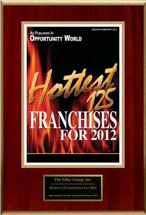 Opportunity World - Hottest 125 Franchises for 2012