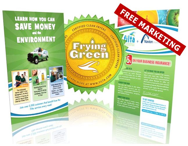 Filta marketing materials