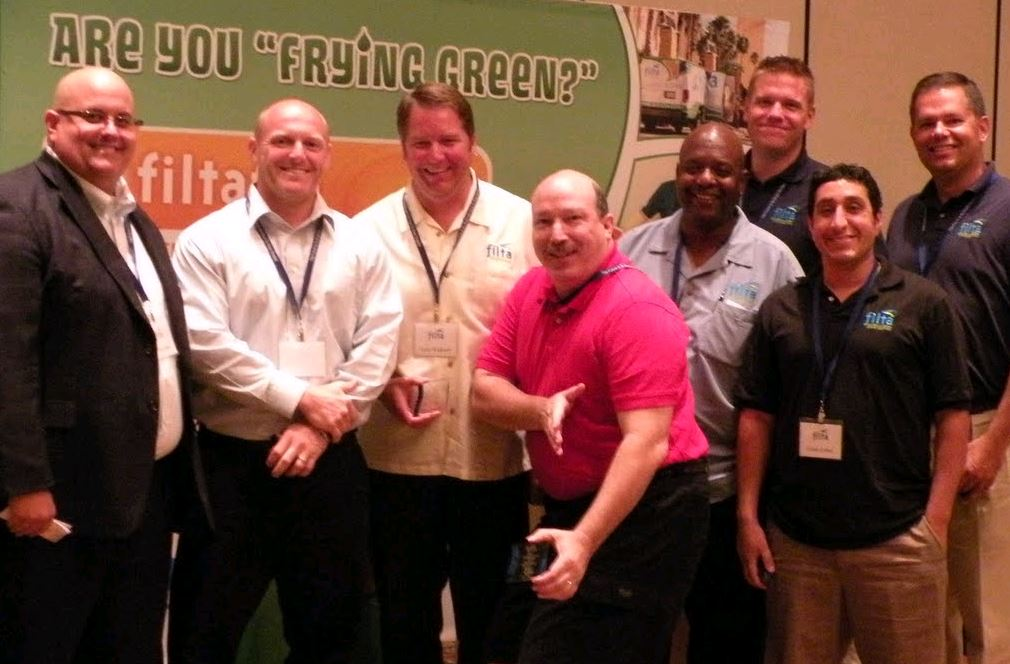 Filta Franchise Owners at last year's conference