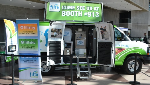 Filta at the International Franchise Expo