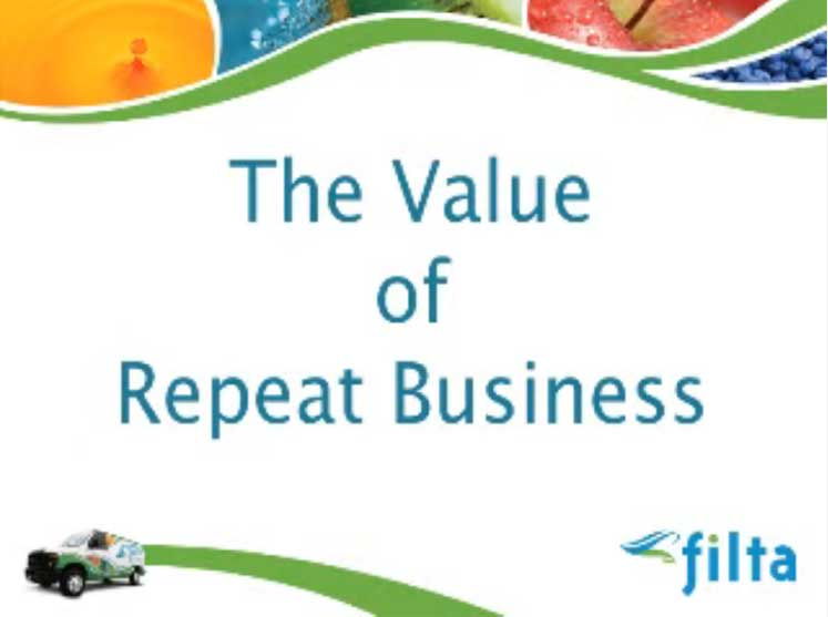 The Value of Repeat Business